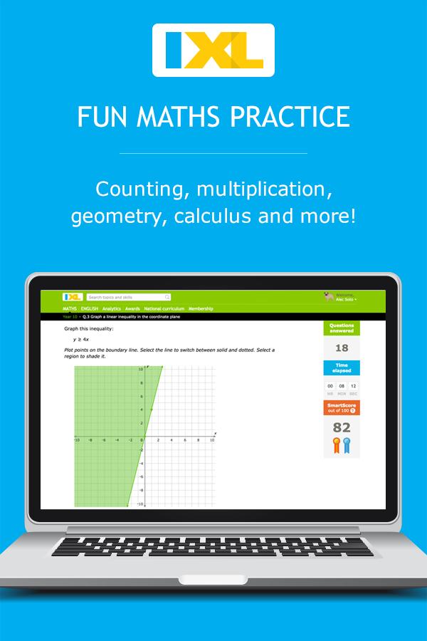 IXL - Grade 7 maths practice